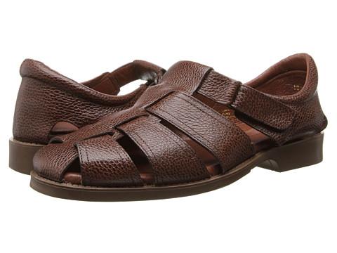 Fitzwell - Sal (Dark Brown Leather) Men's Sandals