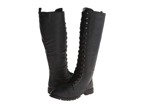 Wanted - Akira (Black) Women's Lace-up Boots