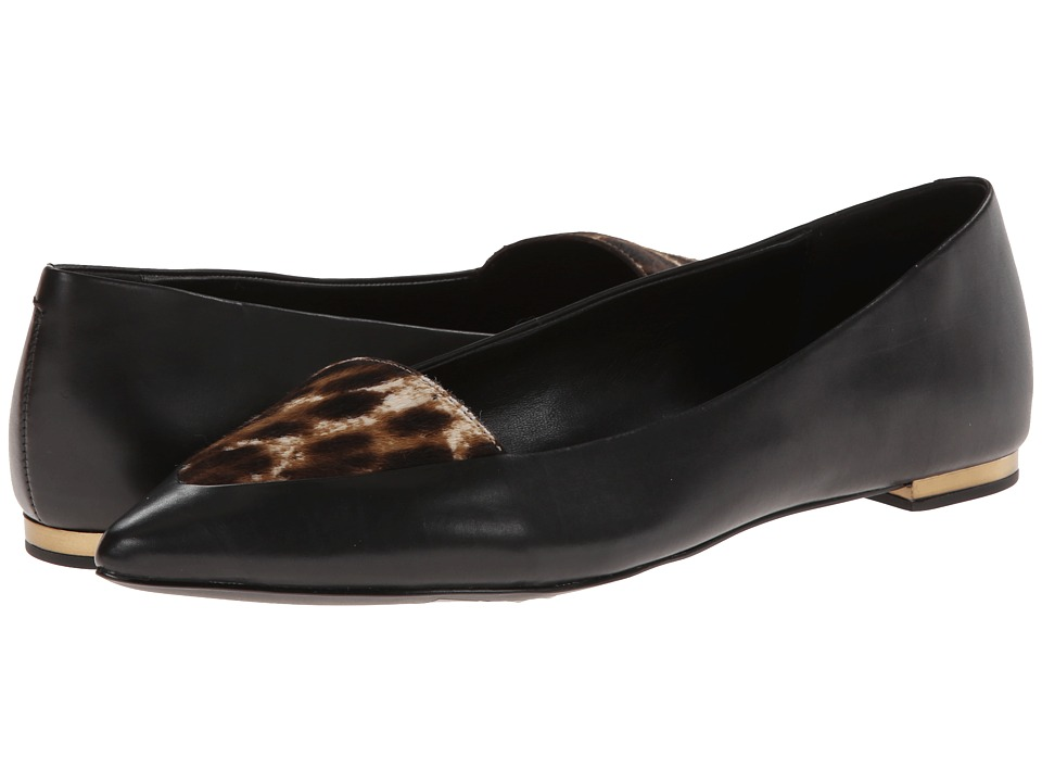 Aerin - Imogen (Black/Leopard Nappa/Haircalf) Women
