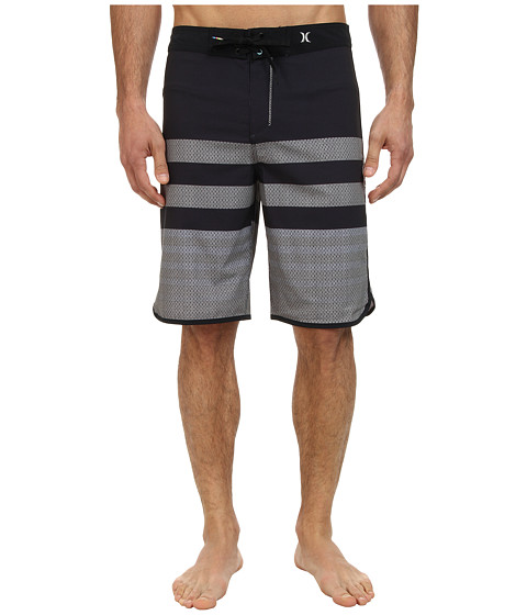 Hurley - Phantom Warp 4 Boardshort (Black 1) Men's Swimwear