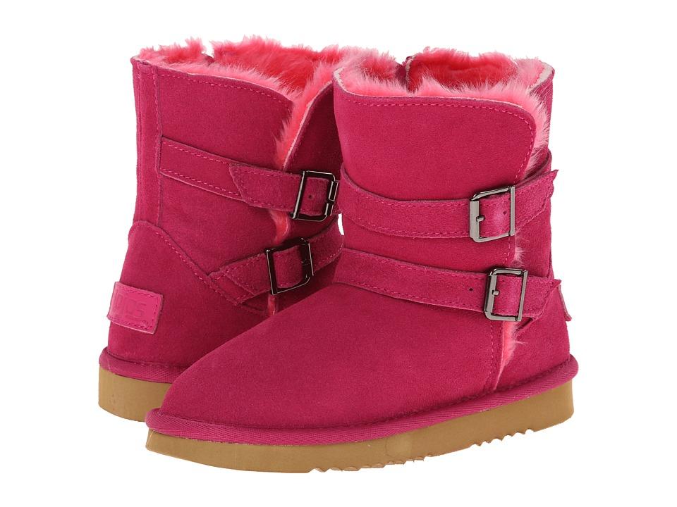 Flojos Kids - May (Little Kid/Big Kid) (Rose) Girls Shoes