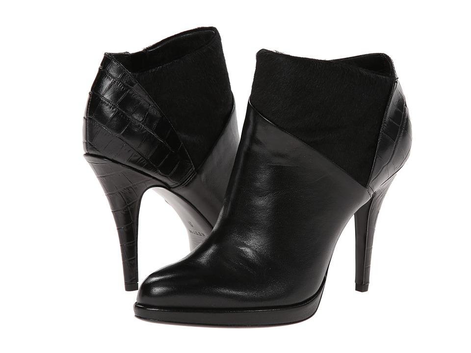 Aerin - Bennett (Black Nappa/Haircalf/Croc Print) Women's Boots