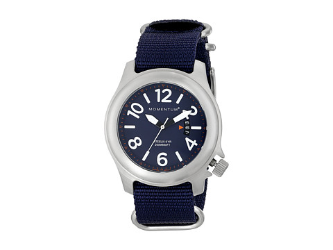 Momentum by St. Moritz - Steelix (Blue/Blue Nylon) Watches