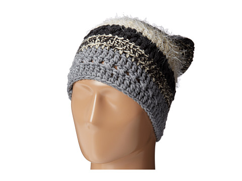 San Diego Hat Company - KNH3308 Mixed Yard Striped Beanie (Grey) Beanies