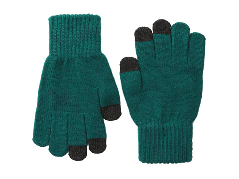 San Diego Hat Company - KNG3150 Knit Gloves with Text Friendly Fingers (Teal) Dress Gloves