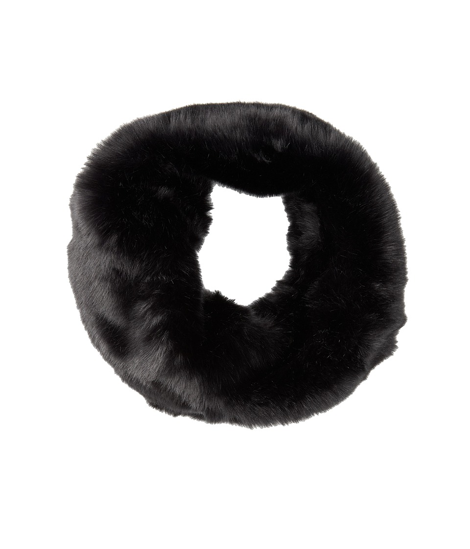 San Diego Hat Company - BSS1000 Faux Fur Wide Collar (Black) Traditional Hats