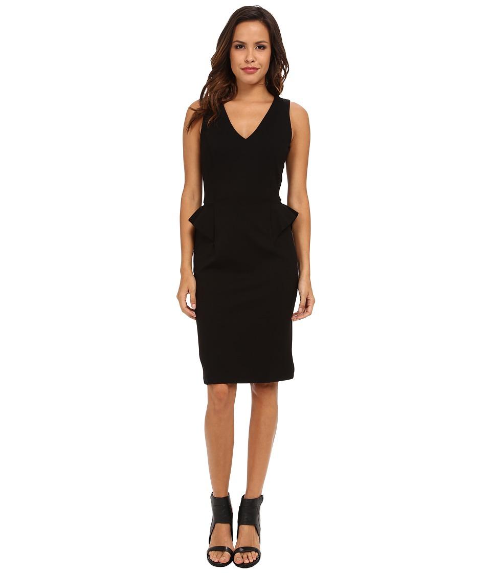 Velvet by Graham & Spencer - Ajani Sleeveless Ponte Dress (Black) Women's Dress
