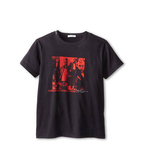 Dolce & Gabbana - James Dean Short Sleeve T-Shirt (Big Kids) (Multi) Men's Short Sleeve Pullover