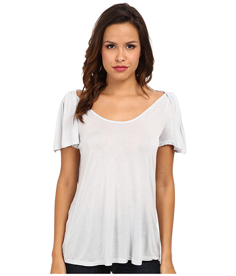 Velvet by Graham & Spencer - Dinah Slinky S/S Tee (Hippo) Women