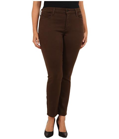 NYDJ Plus Size - Plus Size Jade Legging Super Stretch Denim (Caribou) Women's Jeans