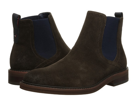 Tommy Hilfiger - Charlton (Brown) Men's Dress Pull-on Boots