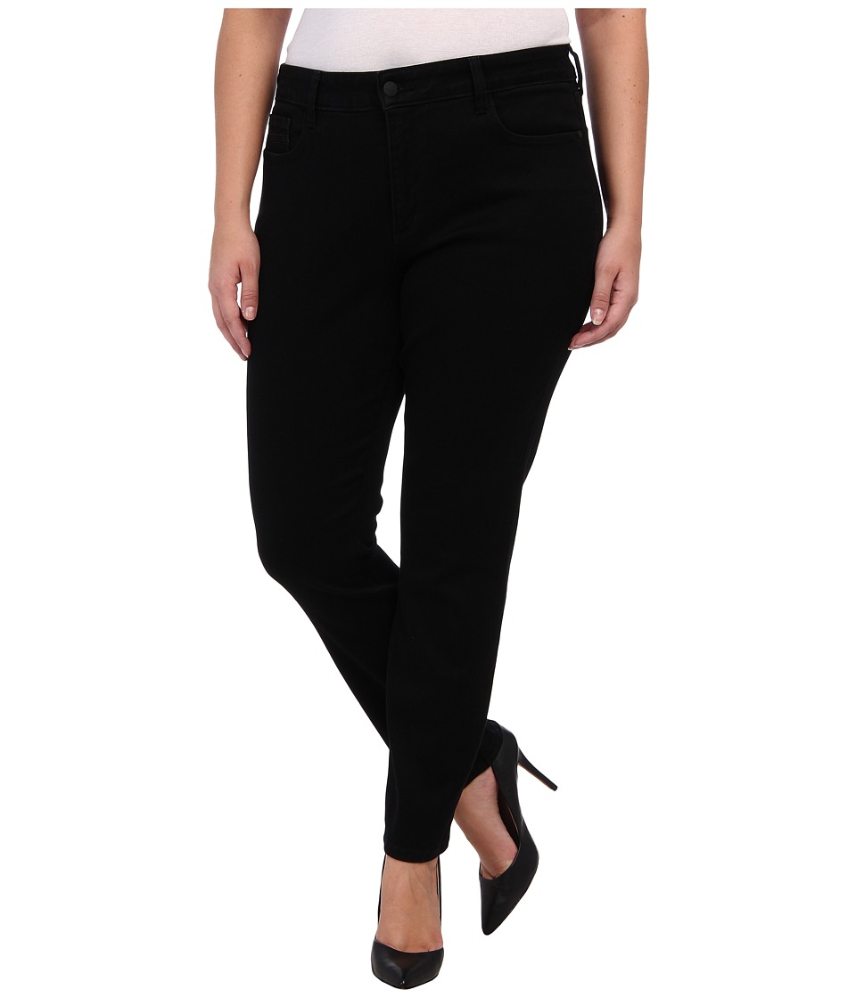 NYDJ Plus Size - Plus Size Jade Legging Super Stretch in Black (Black) Women's Jeans