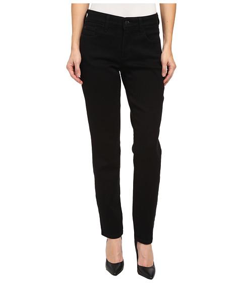NYDJ Petite - Petite Alina Legging Super Stretch Denim (Black) Women's Jeans