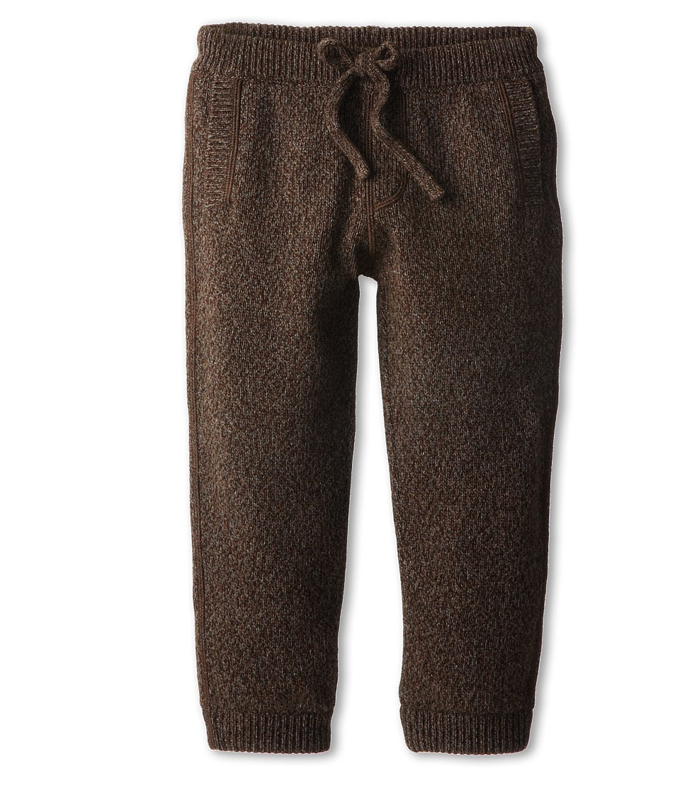 Dolce & Gabbana Kids - Drawstring Sweatpant (Toddler/Little Kids) (Brown) Boy's Casual Pants