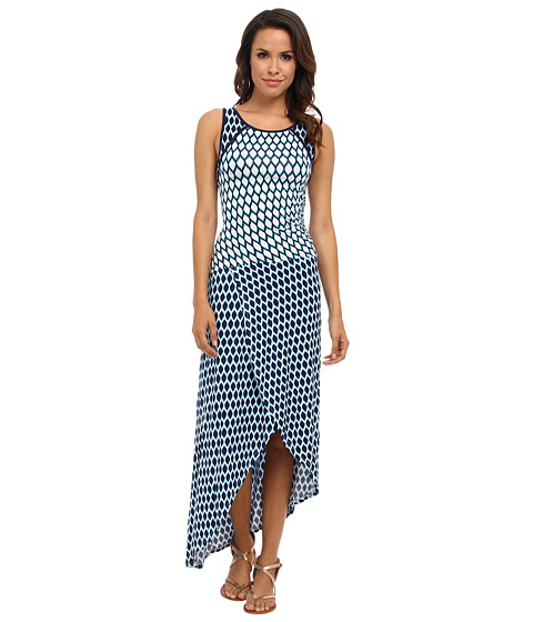 Tart - Rosa Dress (Navy Mini Ikat) Women's Dress