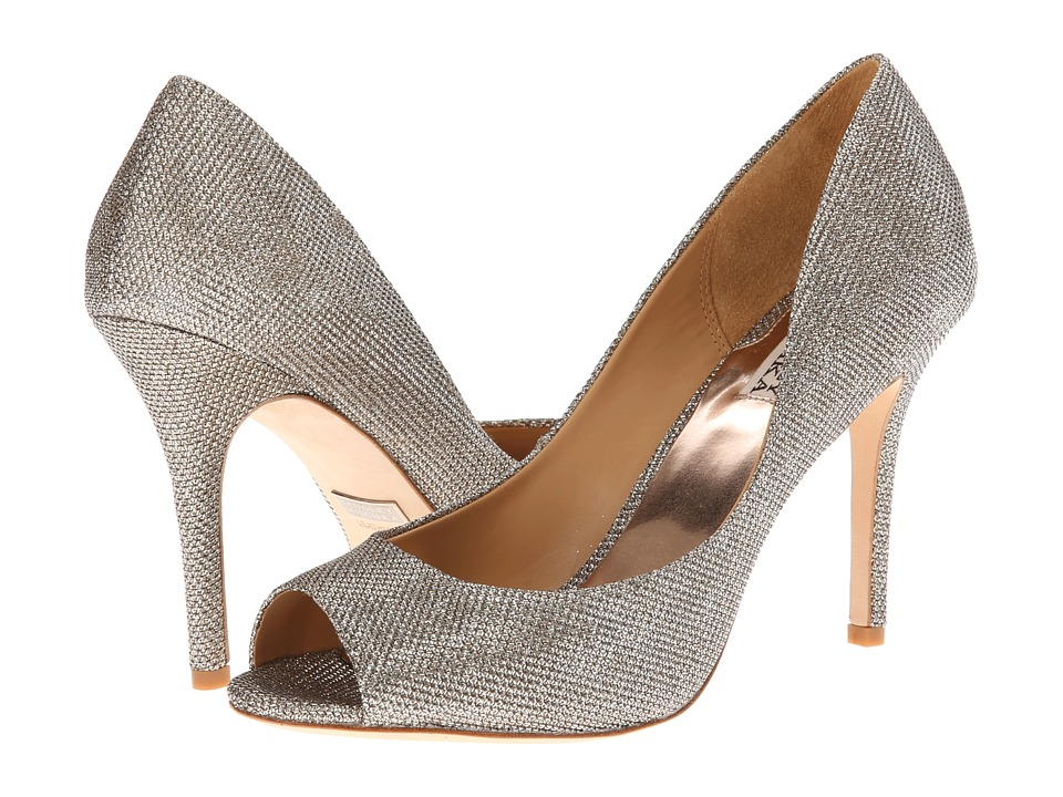 Badgley Mischka - Jossie (Platino Diamond Drill) High Heels