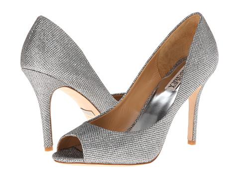 Badgley Mischka - Jossie (Silver Diamond Drill) High Heels