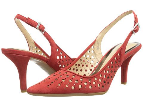 Calvin Klein - Damaris (Summer Coral Kid Suede) High Heels