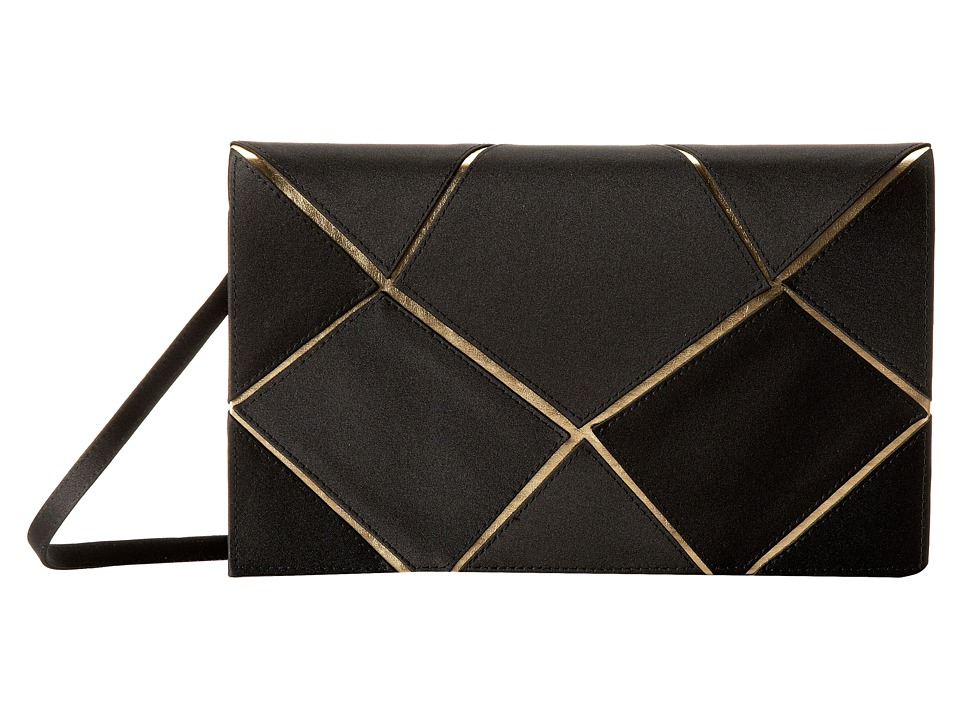 Nina - Lockhart (Black/Gold) Clutch Handbags