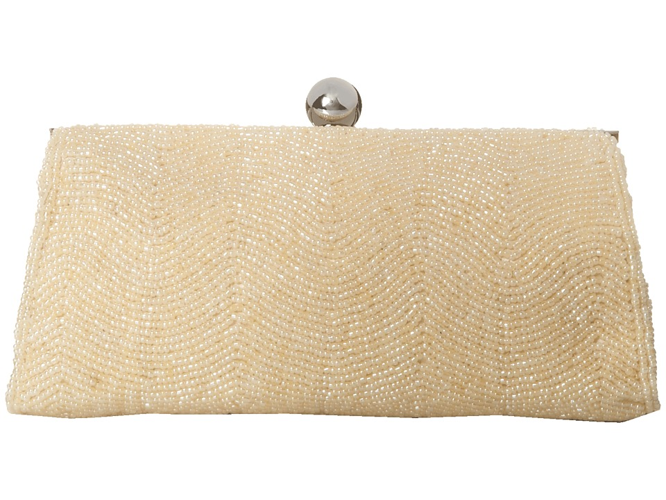 Nina - Hetta (Champagne) Clutch Handbags