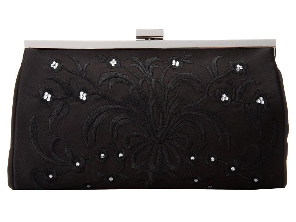 Nina - Ludella (Black/Silver) Clutch Handbags