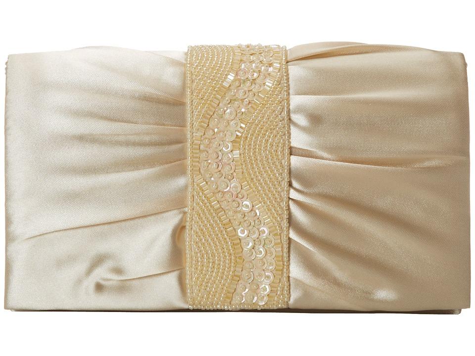 Nina - Hutton (Champagne) Clutch Handbags
