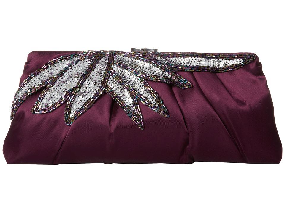 Nina - Holden (Aubergine/Silver) Handbags