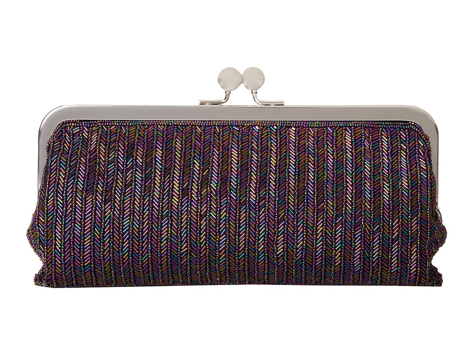 Nina - Hamilton (Purple Iris) Clutch Handbags