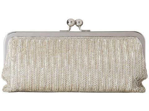 Nina - Hamilton (Silver) Clutch Handbags
