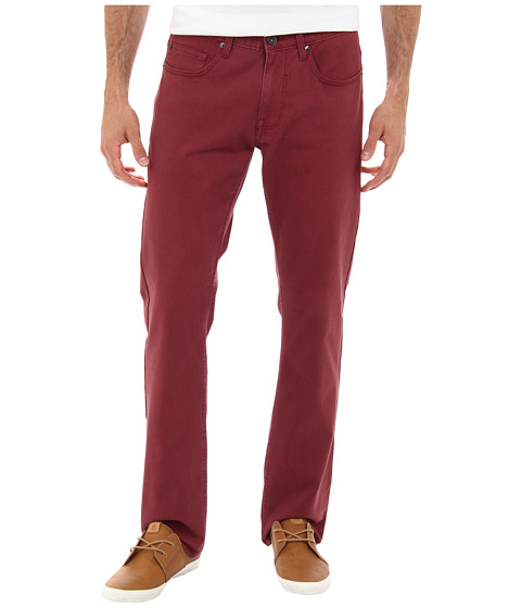 Matix Clothing Company - Gripper Twill Pant (Merlot) Men's Casual Pants