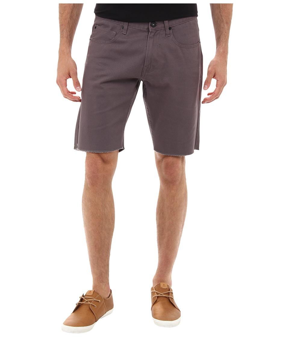 Matix Clothing Company - Gripper Twill Short (Dark Grey) Men's Shorts
