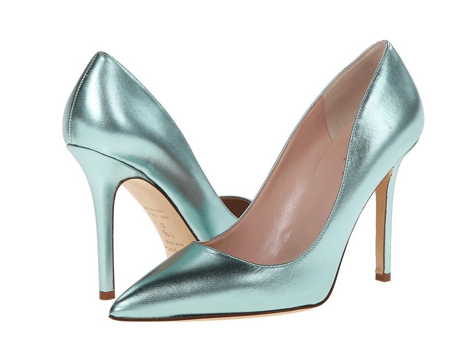 Kate Spade New York - Larisa (Aqua Metallic Kid) Women's Shoes