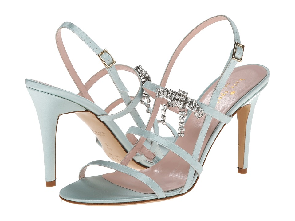 Kate Spade New York - Swenson (Pale Blue Satin) High Heels