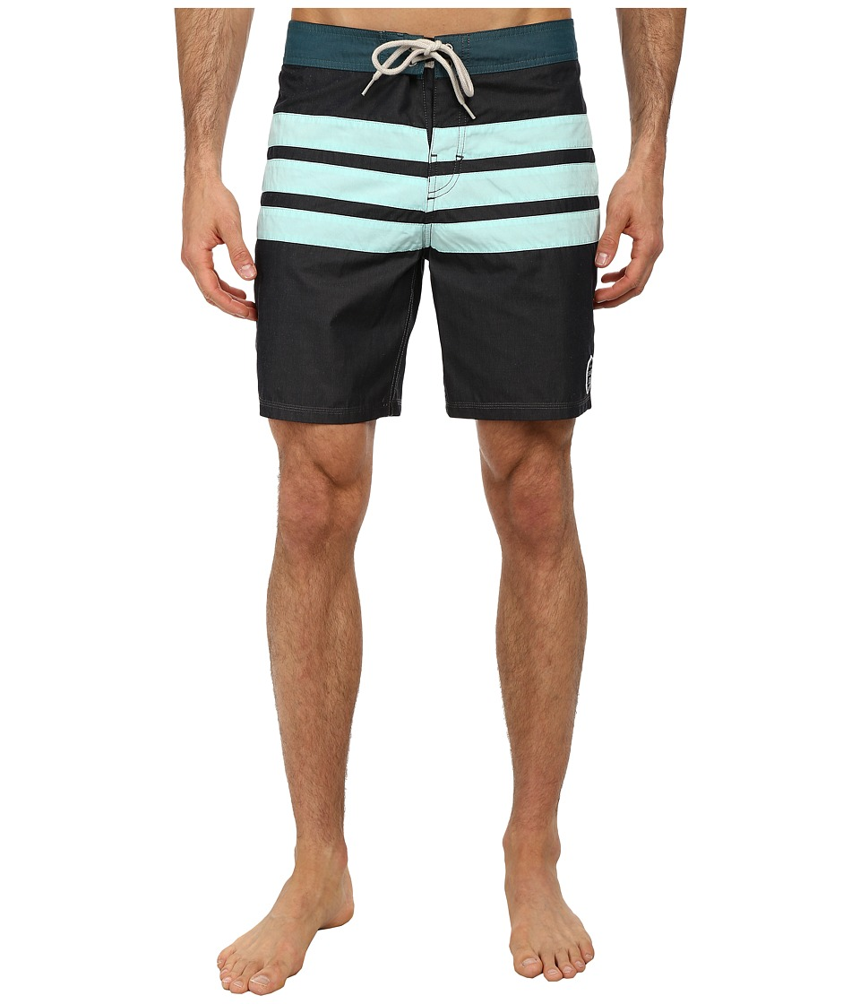DC - Hamilton Boardshort (Black) Men's Swimwear