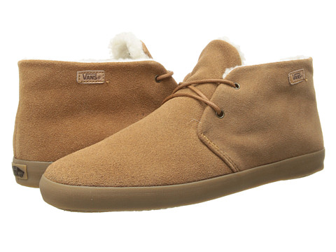 Vans - Rhea ((Suede) Tobacco Brown) Women's Skate Shoes