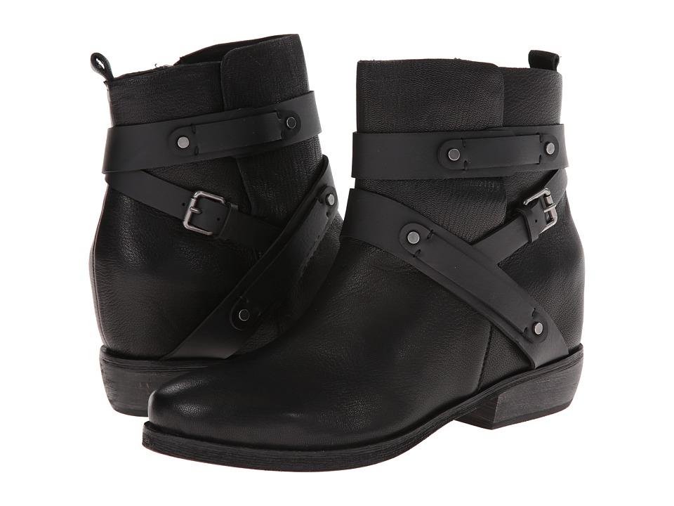 Joe's Jeans - Benny (Black) Women's Zip Boots
