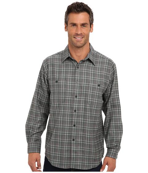 Pendleton - L/S Zephyr Shirt (Green/Grey/Plaid) Men's Long Sleeve Button Up