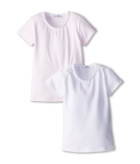 Dolce & Gabbana - 2-Pack Short Sleeve T-Shirt (Toddler/Little Kids/Big Kids) (Multi) Women