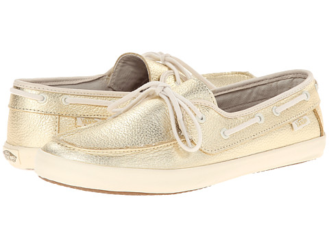 Vans - Chauffette W ((Leather) Metallic Gold) Women