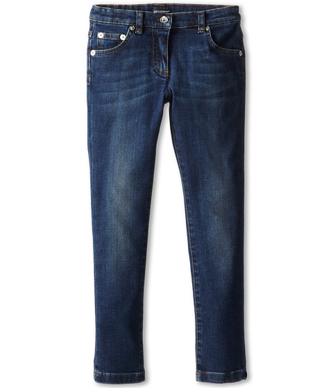 Dolce & Gabbana - 5-Pocket Skinny Jean (Toddler/Little Kids) (Very Dark Blue) Women