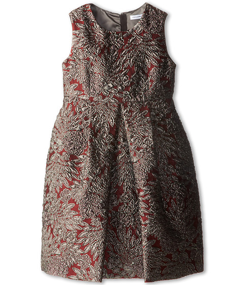 Dolce & Gabbana - Sleeveless Jacquard A-Line Dress (Little Kids) (Jacquard) Women's Dress