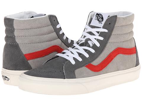 Vans - SK8-Hi Reissue ((Vintage Suede) Castlerock/Drizzle) Skate Shoes