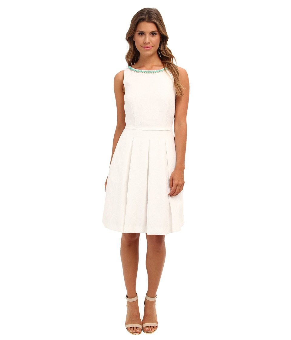 Tahari by ASL - Willy-KP (White) Women's Dress
