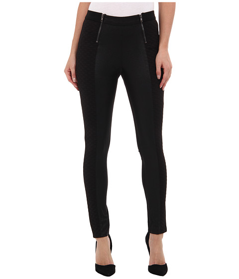 BCBGeneration - Flat Front Ankle Pant XGN2F652 (Black) Women's Casual Pants