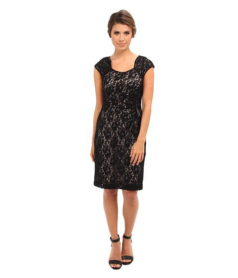 Tahari by ASL - George-T (Black/Nude) Women