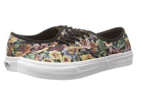 Vans - Authentic Slim (Black) Skate Shoes