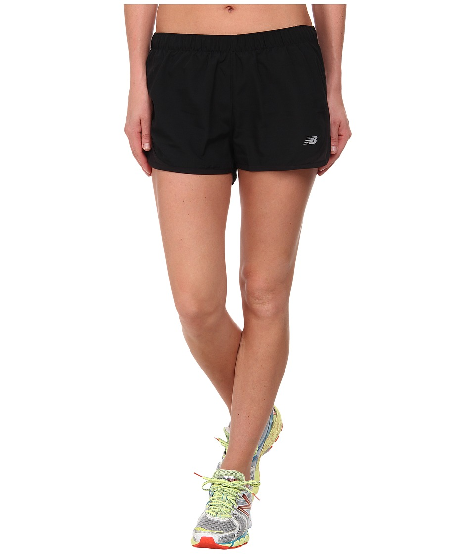 New Balance - Accelerate Short (Black/Black) Women's Workout