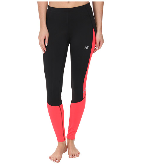New Balance - Accelerate Tight (Bright Cherry/Black) Women's Workout