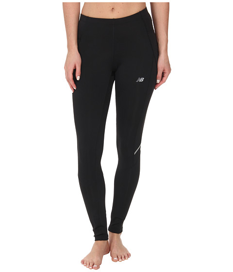 New Balance - Accelerate Tight (Black/Black) Women
