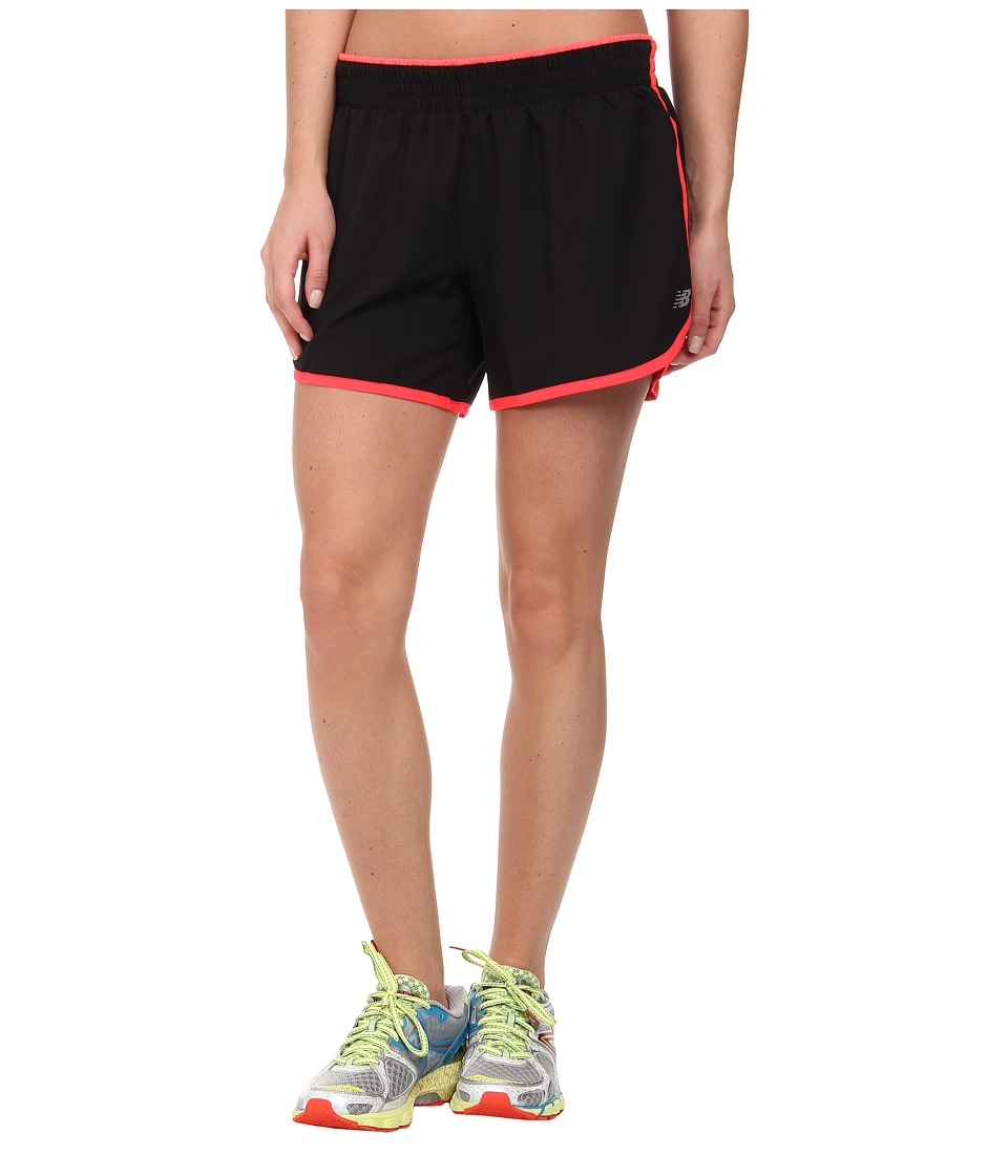 New Balance - Accelerate 5 Short (Bright Cherry/Black) Women's Workout